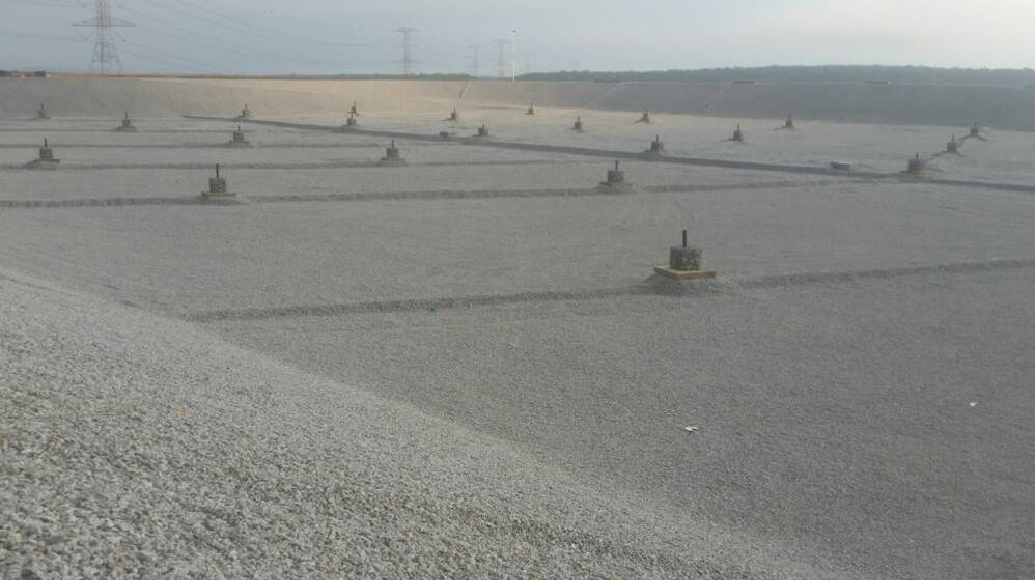 New landfill Non-woven geotextile HDPE Geomembrane Geosynthetic Clay Liner